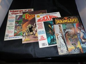 Lot-of-4-Magazines-Lot-Fantasy-See-Description-and-Photos