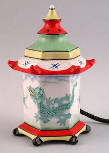 99840359-Porcelana-Figura-Lampara-Aparato-Fumivoro-Pagode