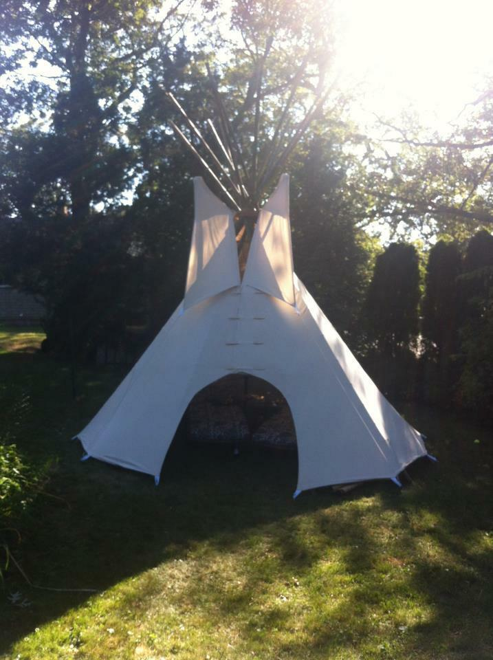 NEW 8' Youth CHEYENNE size  CHEYENNE Youth STYLE tipi/teepee w/door&bag f5713e