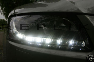R8 Style LED lights for ALFA ROMEO Giulietta DRL Spider Brera 159 147 fog side