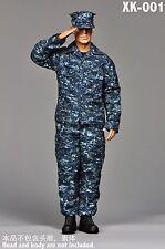 XK001 1:6 U.S. NAVY Marine Camouflage Training Clothing Suits Without Body