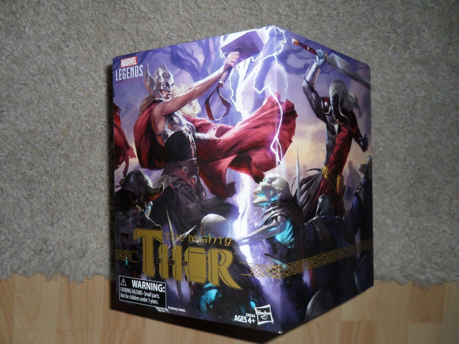 Hasbro Marvel Legends SDCC 2017 Exclusive – The Mighty Thor 5-Figure Set