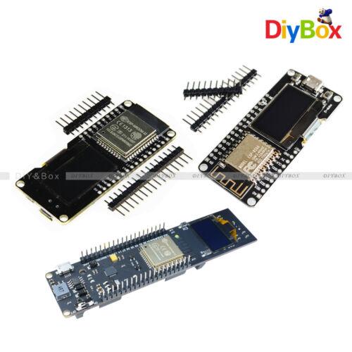 "OLED de 0.96/"" ESP32 ESP8266 12 F CP2102 18650 Batería Para wemos Wifi Bluetooth"