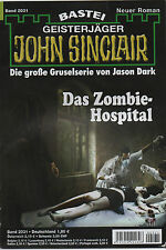 JOHN SINCLAIR ROMAN Nr. 2032 - Angriff aus der Tiefe - Ian Rolf Hill - NEU