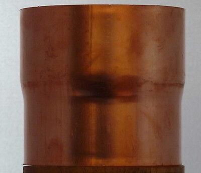 Hell Rohrverbinder Aus Kupfer Oder Titanzink Für Fallrohre Nw 100 Mm Senility VerzöGern Regenrinnen & Zubehör Baustoffe & Holz