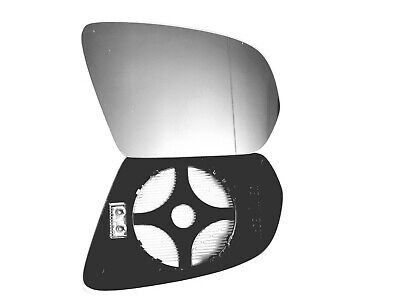 Côté Gauche Grand Angle Miroir Aile Rétroviseur pour Nissan Navara D40 05-14