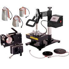 15X20CM 8 IN 1 Interchangeable Combo Heat Press Sublimation Transfer Machine