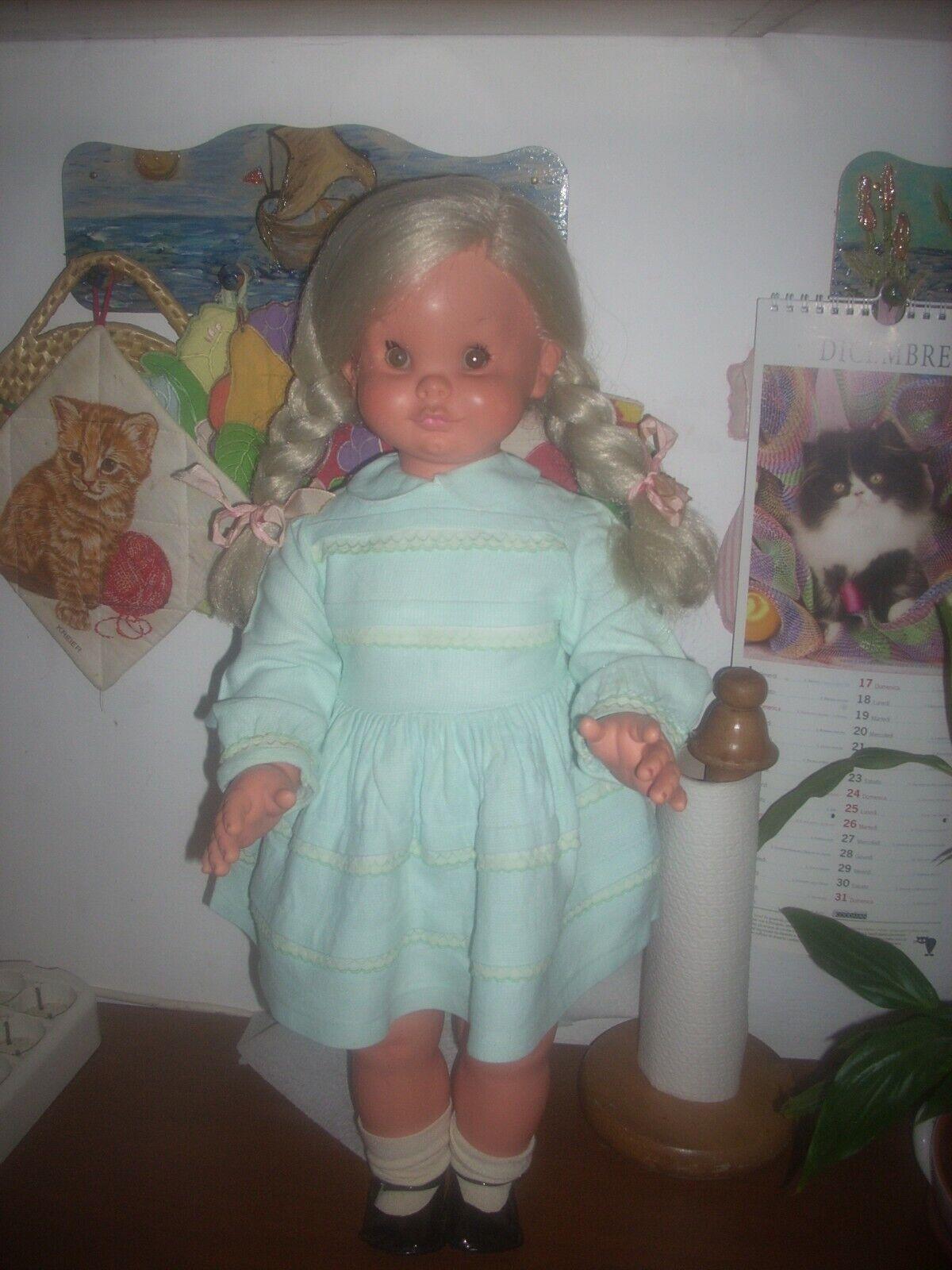 Bambola furga furga furga anno 1962 Valentina h.cm 60 con difetti leggi...... c3fc89