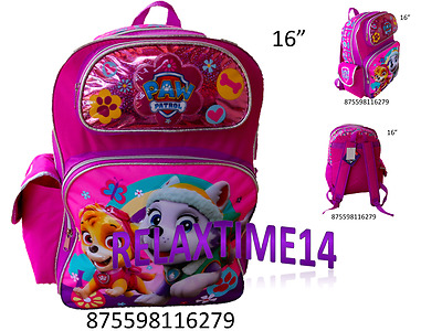 Nickelodeon Paw Patrol Skye /& Friends Pink Backpack School Bag for Girls