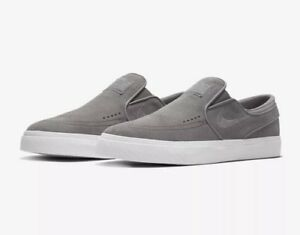 f5bb9f10c21b6 Nike SB Zoom Stefan Janoski Slip-On Shoes - Gunsmoke Grey White ...