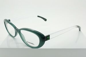 Chanel Green Eyeglass Frames : CHANEL 3275 Green / Clear (1447) Size 52-16-140mm Designer ...
