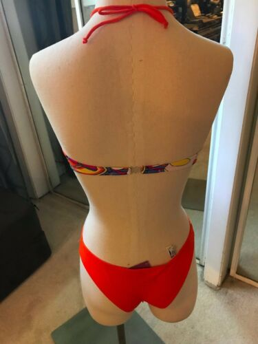 15 NEW La Perla  floral  Swim two piece swim suit Size 8  800108B