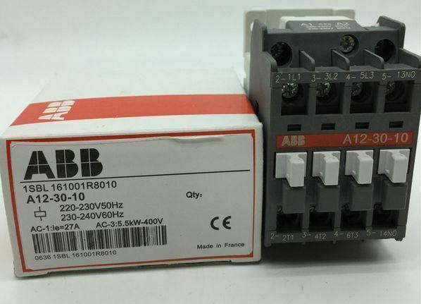 1PCS NEW Original AC contactor ABB A12-30-10 IN BOX