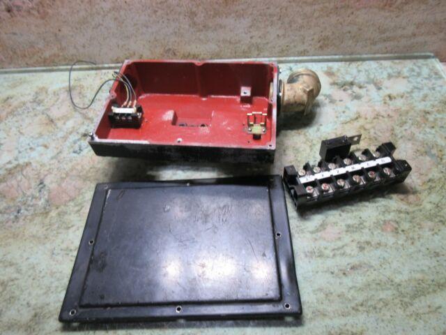 Okuma Vac Spindle Motor Ac Connection Box Terminal Wire M