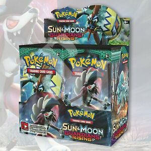 Guardians Rising Booster Box Factory Sealed Pokemon Sun /& Moon 36 Booster Packs