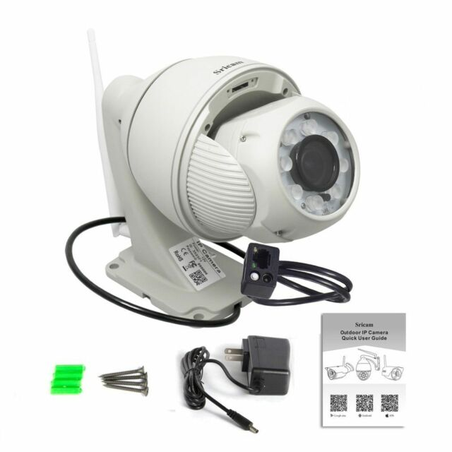 Sricam HD Wireless Wifi IP//Network Security Surveillance IR Camera Night Vision
