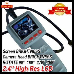 2-4-Digital-Video-Inspection-Borescope-1m-Endoscope-Pipe-10mm-Camera-Snake-Scop