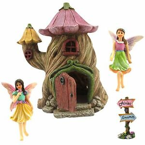 Fairy-Garden-House-Ornaments-amp-Miniature-Accessories-by-Pretmanns