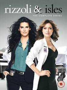 Rizzoli-amp-Isles-The-Complete-Series-DVD-Angie-Harmon-Sasha-Alexander