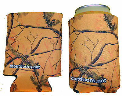 Realtree Orange Camo Can Cooler,Koozie,Can Cooler,Can Huggie