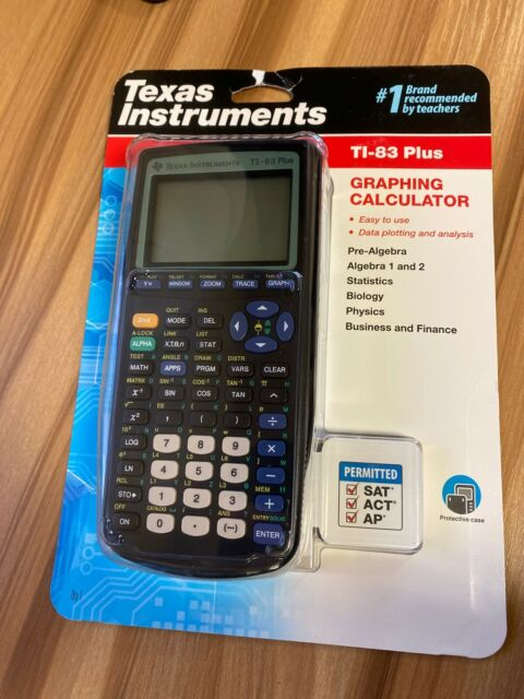 NEW Texas Instruments TI-83 Plus Graphing Calculator - FAST FREE SHIPPING