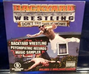 Insane-Clown-Posse-Backyard-Wrestling-Sampler-CD-esham-twiztid-anybody-killa