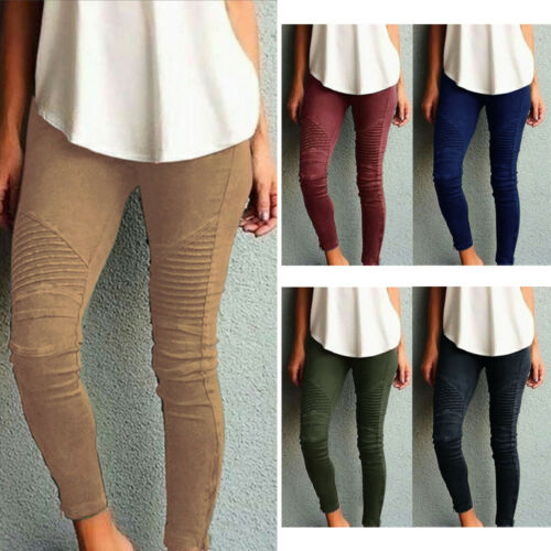 caviglia Pantaloni elasticizzati alla skinny con pantaloni da casual donna qnCzHqwA