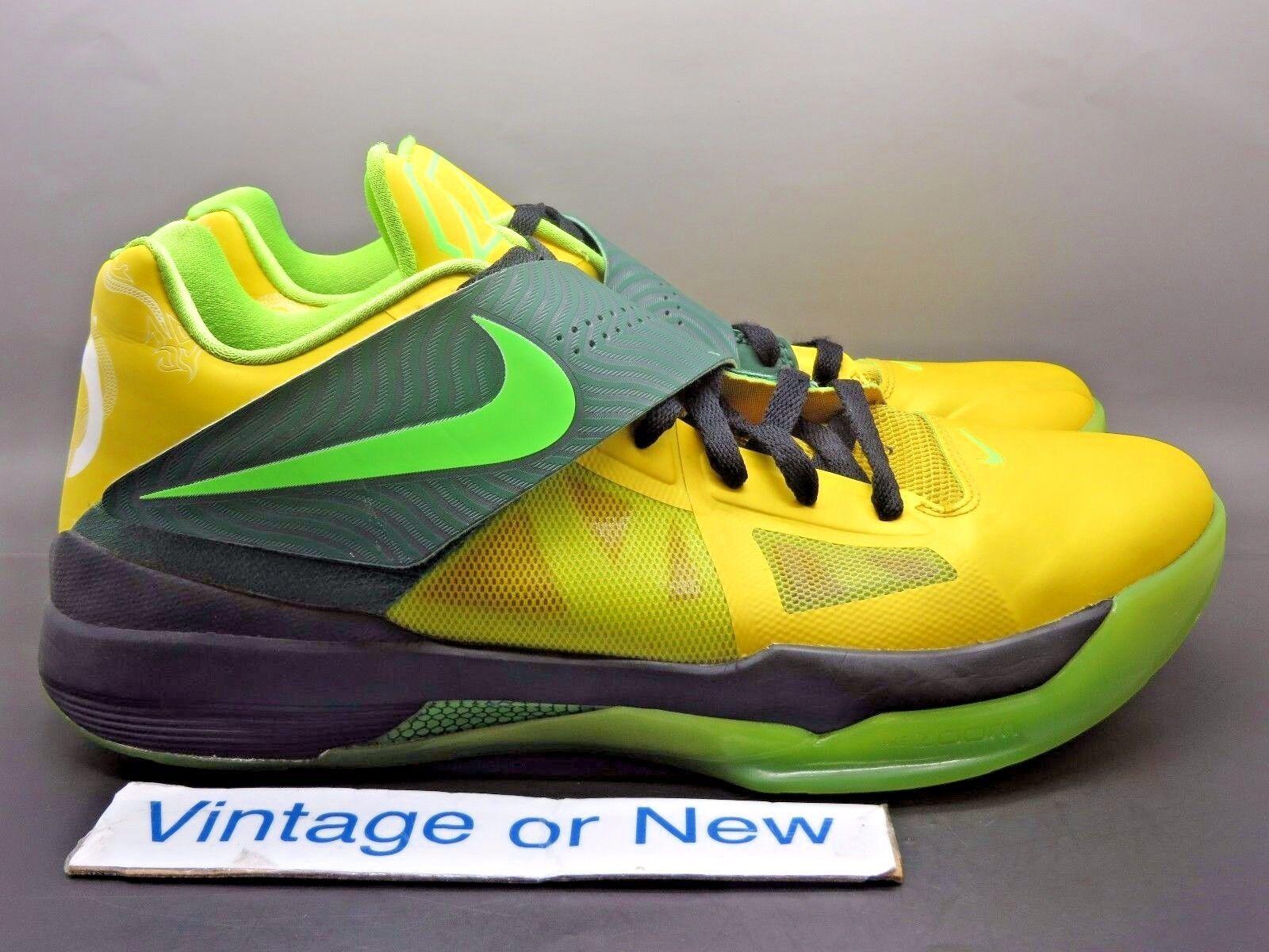 Nike zoom kd iv 4 anno del dragone giallo lime verde pino nero sz