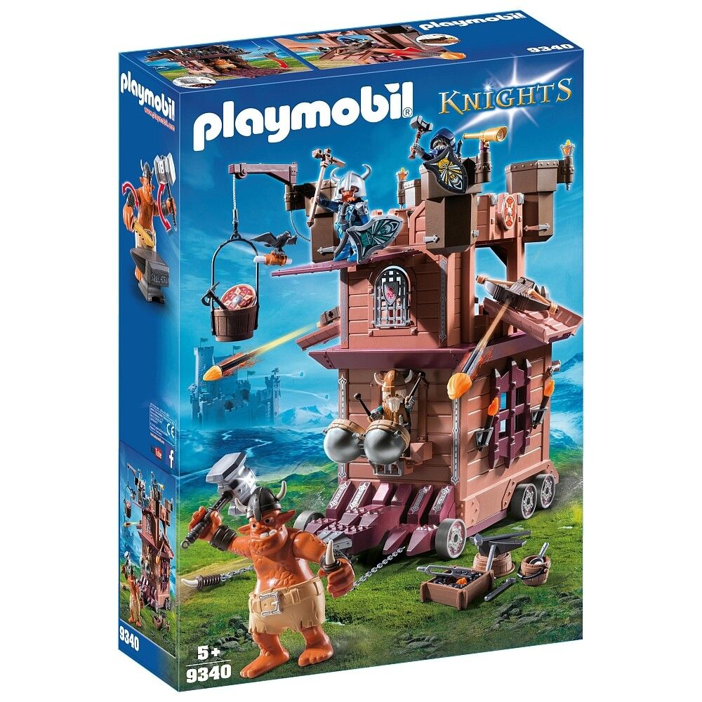 Playmobil - Knights - 9340 - Mobile Zwergenfestung - NEU OVP