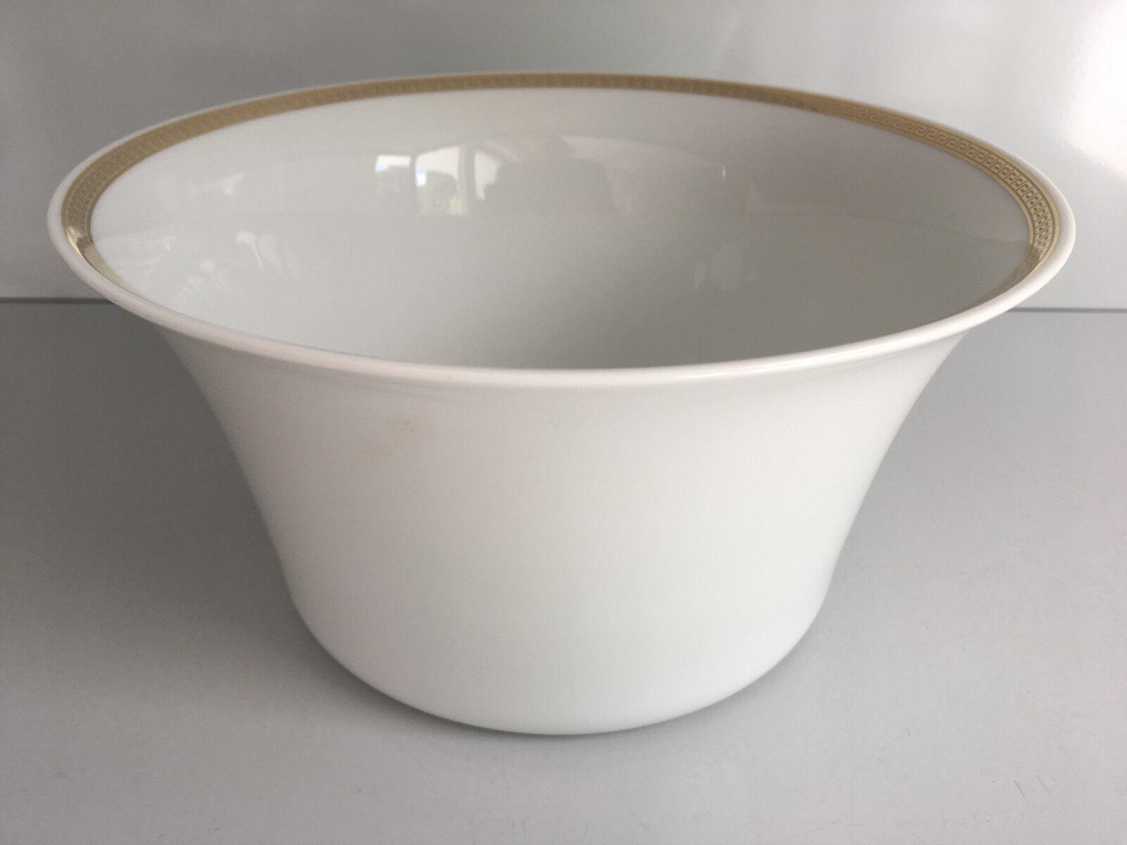 ROSENTHAL VERSACE médaillon MEANDRE d or Bol 20 cm Nouveau I. choix scolarisées Bowl