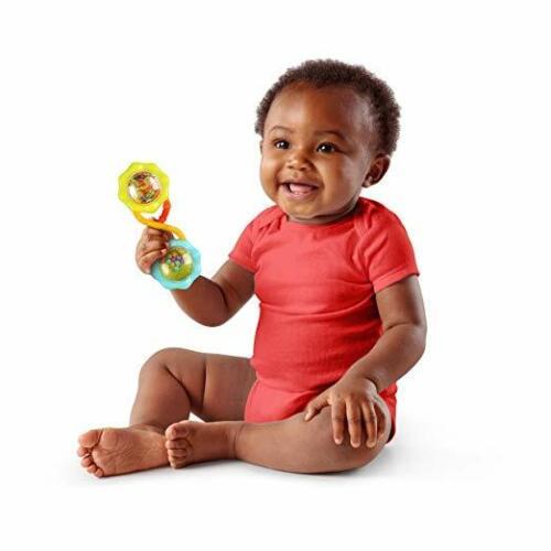 Infant Baby Rattles Newborn Shake Barbell Toys Bell Hand Bright Stars Children