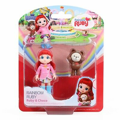 """8/"""" Rainbow Ruby Doll ruby everyday image Action Figurine for kids 20 cm"""