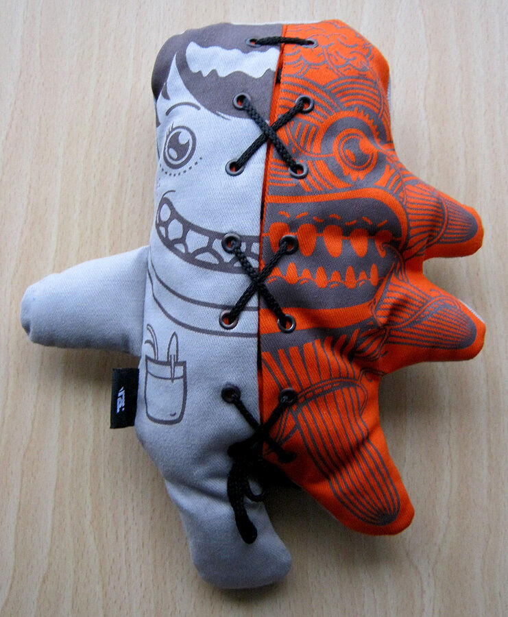 Pattern's Hektor - Rare 2008 Seriography on Designer Plush - Limited Edition OOP