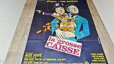bourvil LA GROSSE CAISSE  ! paul meurisse  affiche cinema 1965