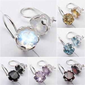 CAGE-Earrings-925-Sterling-Silver-Gemstones-Battle-of-the-Boyne-Jewelry