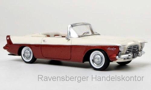 bienvenido a comprar Maravilloso Neo-MODELCoche Chrysler vuelo vuelo vuelo barrido i Descapotable 1955 - 1 43 - lim.500  se descuenta