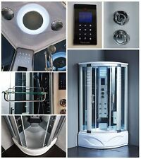 Shower Room Enclosure Massage Jets & Steam Spa Sauna 8002-A - 2 Year Warranty