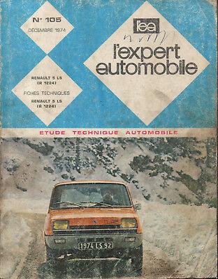 Alarm Rta Revue Technique Automobiles N° 105 Renault 5 Ls Aromatisch Karakter En Aangename Smaak