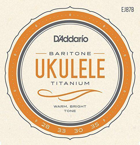 D/'Addario EJ87B Titanium Ukulele Strings Baritone