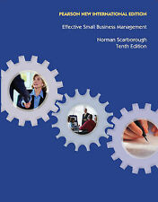 Effective Small Business Management, Scarborough, Norman M Book