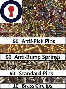 Locksmith-Pins-Springs-and-Clips-FREE-TOOL-1st-P-amp-P