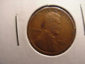 1921-P Lincoln Wheat Cent in Very Fine Condition ~ $20 ORDERS SHIP FREE! VF