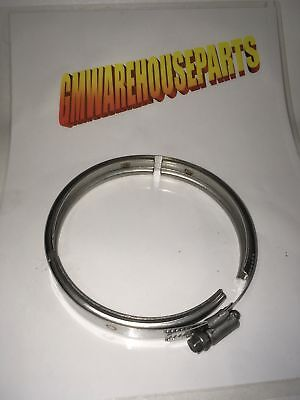 SILVERADO SIERRA DURAMAX TURBO PIPE TO EXHAUST PIPE CLAMP NEW GM # 11611439