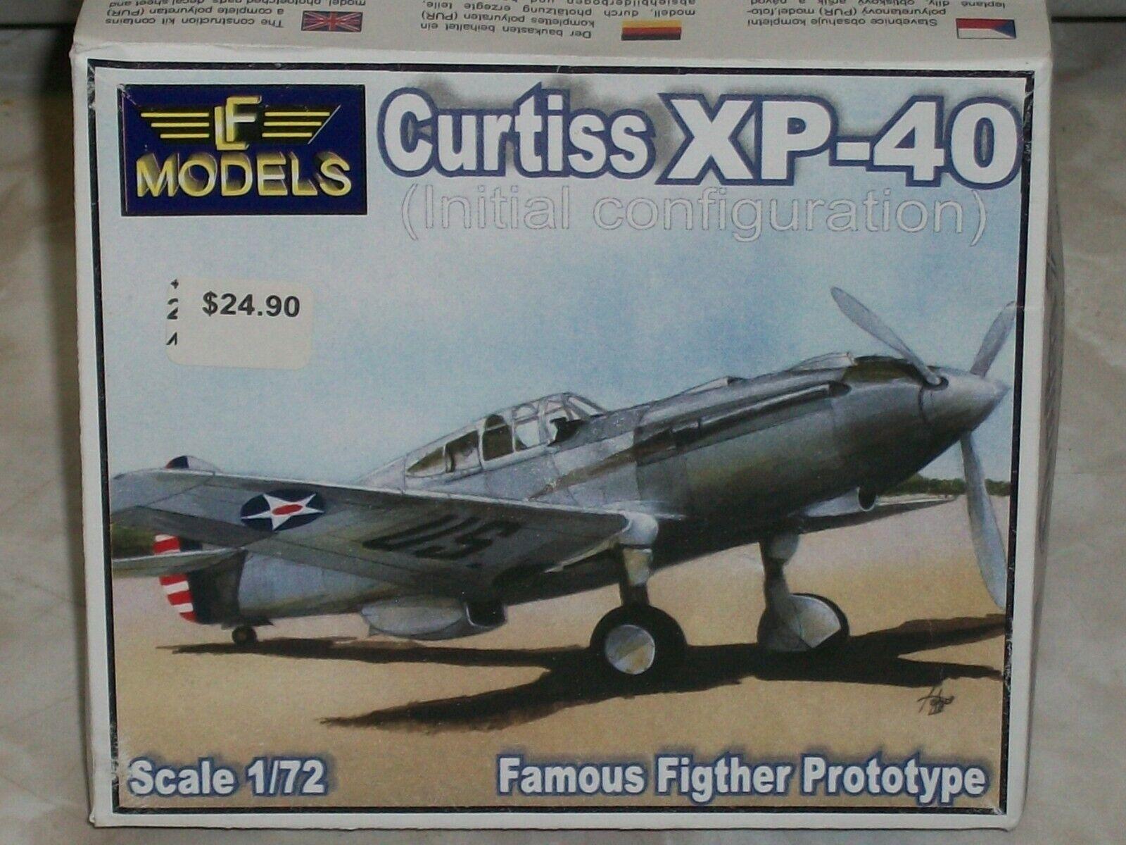 LF- modelller 1 72 Scale Resin Curtiss XP-40