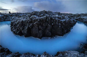 Details About Iceland Lagoon Water Rocks Full Wall Mural Photo Wallpaper Print Home 3d Decal
