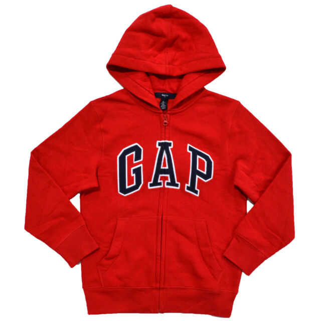 417e6e310 Gap Hoodie Boys Jacket Full Zip Kids Sweatshirt Logo Fleece Lined Coat S  Red. About this product. Picture 1 of 2; Picture 2 of 2. Picture 2 of 2