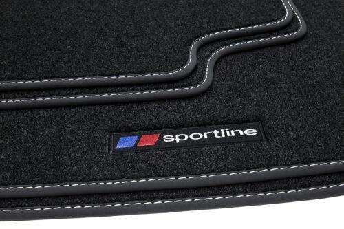 2012 Sportline Fußmatten für BMW 3er F30 F31 Bj