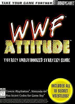 WWF Attitude : Totally Unauthorized Strategy Guide by Brady Games