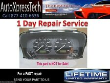 2001 Volkswagen VW Golf Jetta Cabrio gauge cluster speedometer Repair Service!