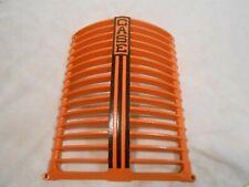 Antique Case Dc Cast Iron Tractor Grille 5358a Nice Rat Rod Mancave